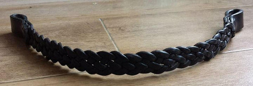Frome Saddlery Hand Made English Leather Plaited Browbands