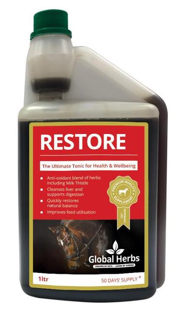 Global Herbs Global Herbs Restore Liver Tonic and Detox Liquid