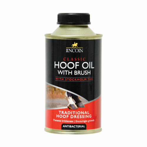 Lincoln Lincoln Classic Hoof Oil with Brush - 500ml