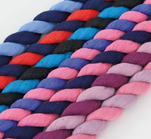 Shires Shires Leadropes with Walsall Clips - Two Tone Colours