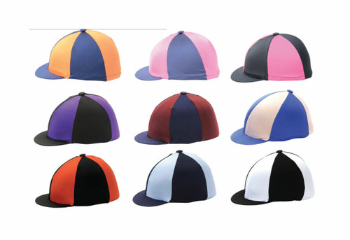 Hy Hy Two Tone Skull Cap Hat Covers