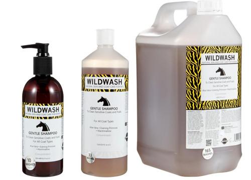 WildWash WildWash Gentle Horse Shampoo - All Sizes