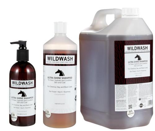 WildWash WildWash Ultra Shine Horse Shampoo - All Sizes