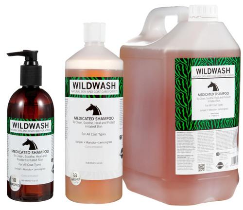WildWash WildWash Medicated Horse Shampoo - All Sizes