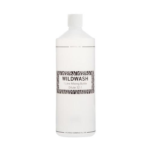 WildWash WildWash Horse Shampoo Mixing Bottle - 1 litre