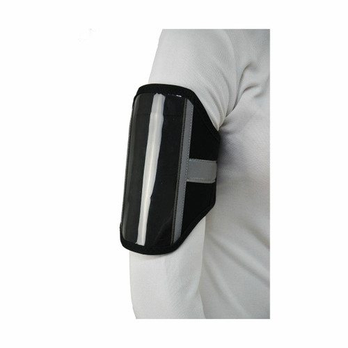 Hy Hy Vis Phone and Key Holder - Black and Silver