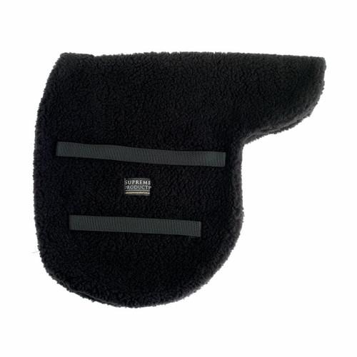 Supreme Products Supreme Fleece Showing Numnahs - Black and Brown