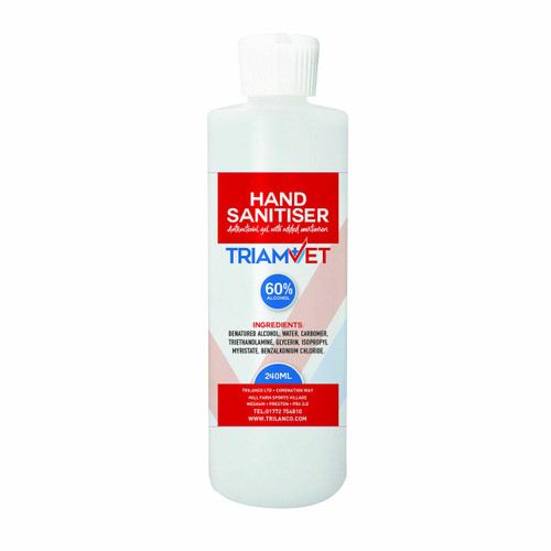 Trilanco TriamVet Hand Sanitiser Gel - 60percent Alcohol