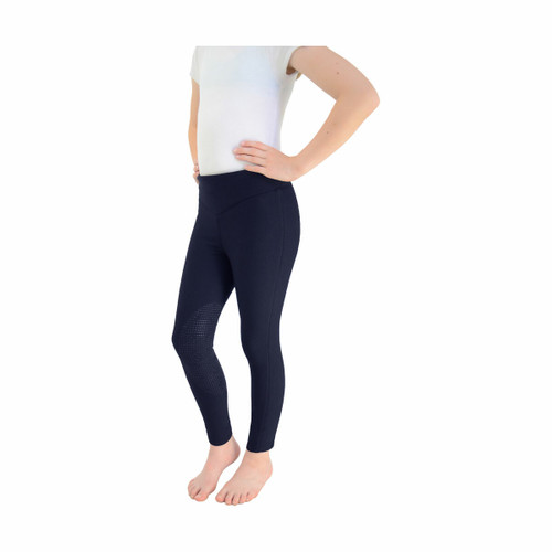 Hy Hy Blizzard Childrens Softshell Riding Tights - Black or Navy