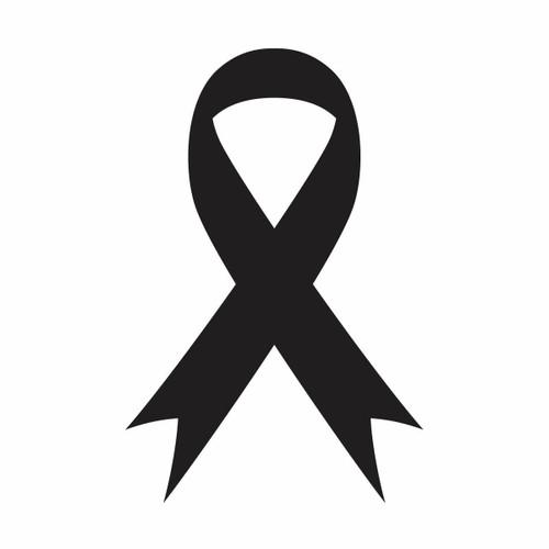 Glamourati Glamourati Medium Cancer Awareness Ribbon Stencil Design - Pack of 2