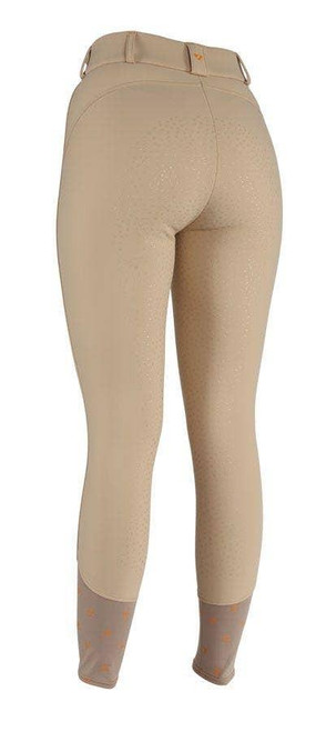 Shires Shires Aubrion Greydock Winter Breeches - Beige and Black