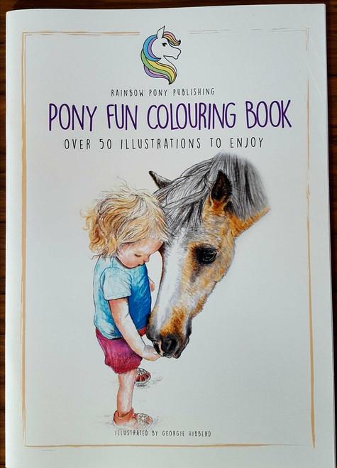 Rainbow Pony Publishing The Pony Fun Colouring Book