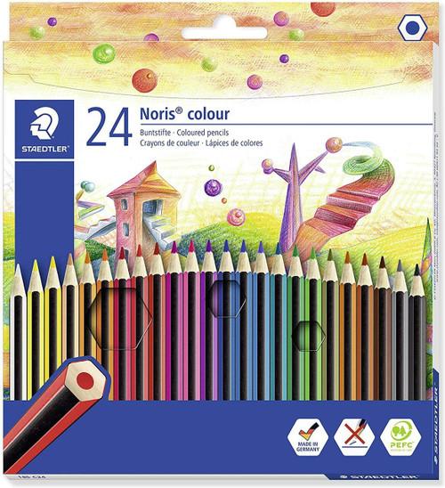 Rainbow Pony Publishing Staedtler Noris Colouring Pencils - Pack of 24
