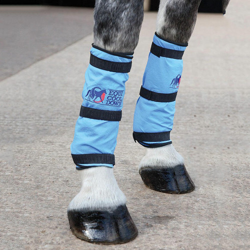 Shires Equi Cool Down Equine Leg Wraps - Pair