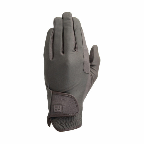Hy Hy5 Adults Riding Gloves - Black and Brown