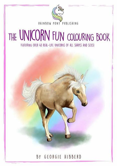 Rainbow Pony Publishing The Unicorn Fun Colouring Book