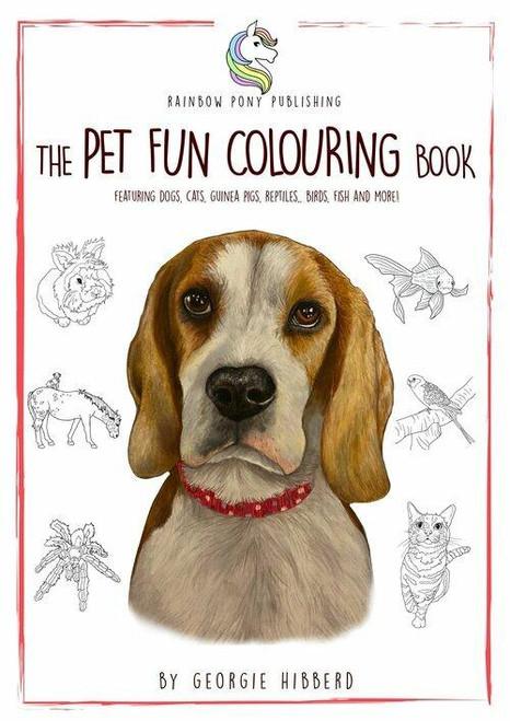 Rainbow Pony Publishing The Pet Fun Colouring Book