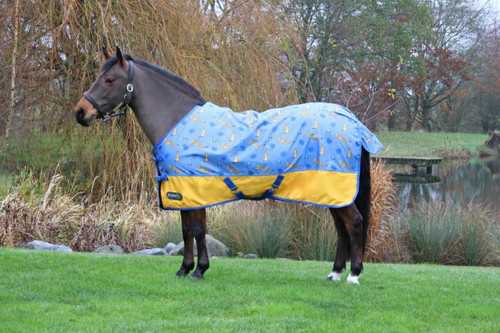 Hy Hy StormX Original Chico the Cheetah 0g Turnout Rug
