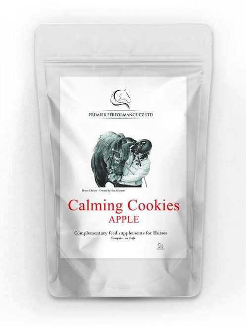 Horse Health Calming Cookies - Pack of 10 Apple Flavour