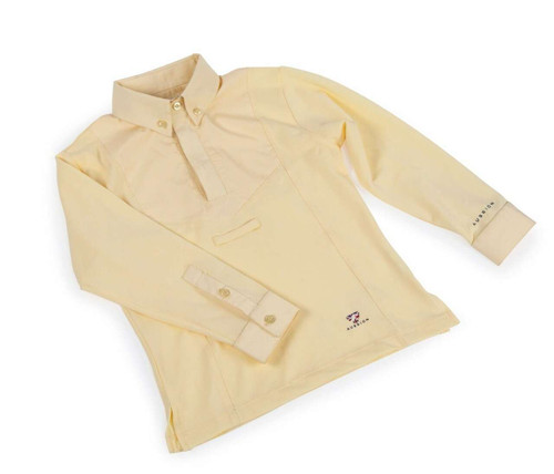 Shires Shires Aubrion Childs Long Sleeve Tie Shirt - All Colours
