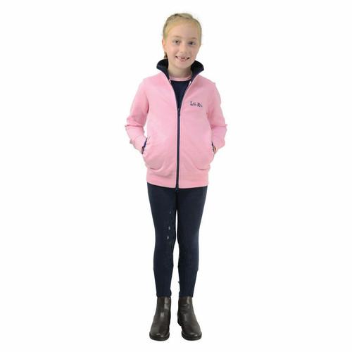 Hy Hy Little Unicorn Girls Jacket - Pink