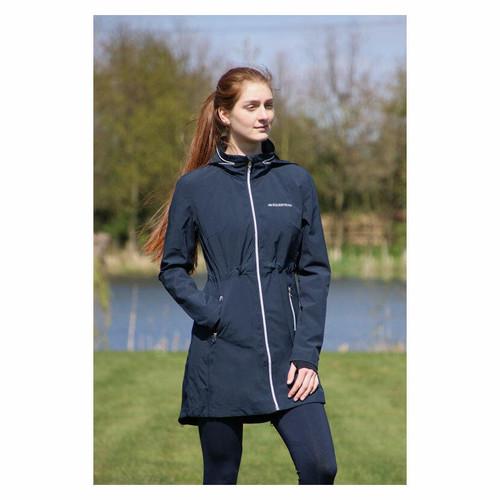 Hy Hy Equestrian Synergy Long Rain Jacket - Navy