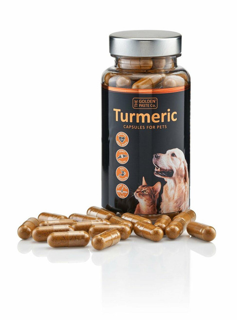Golden Paste Company Golden Paste Company Turmeric Capsules for Pets