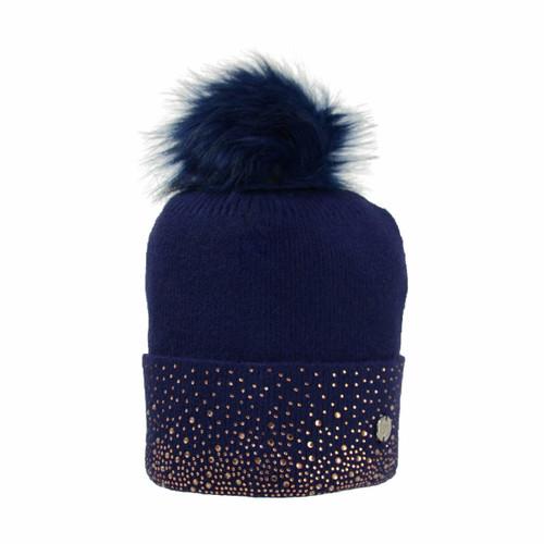 Hy Hy Alaska Diamante Diamante Bobble Hat - All Colours