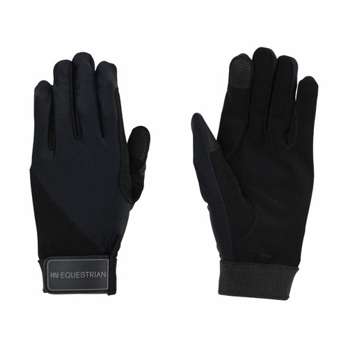 Hy Hy Absolute Fit Childrens Riding Gloves - Black