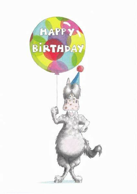 Trish Williams Trish Williams Birthday Card - Birthday Ballon