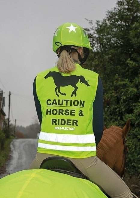 Shires Shires Equi-Flector High Vis Safety Vest - Yellow