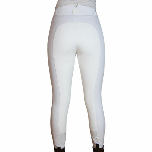 Rugged Breeches Rugged Horse Ladies Competition Breeches - White 26