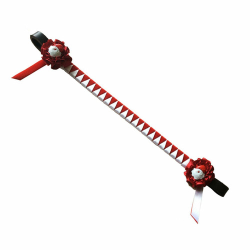 Showquest Showquest Christmas Santa Browbands - Red/White