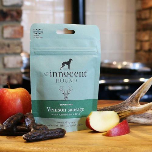 The Innocent Hound The Innocent Hound Venison Sausage Dog Treats with Apple