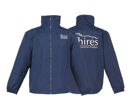 Shires Shires Childs Team Jacket - Navy Shires Embroidery