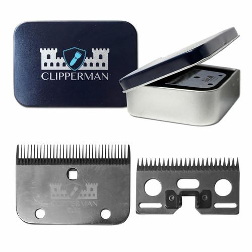 Clipperman Clipperman CLA2 Clipper Blade Set - Medium