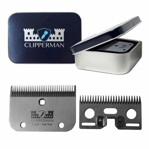 Clipperman Clipperman CLA22 Clipper Blade Set - Fine