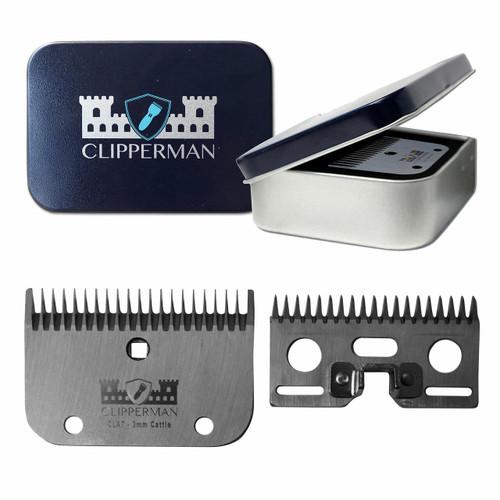 Clipperman Clipperman CLA7 Clipper Blade Set - Coarse