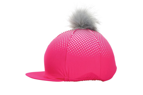 Hy Hy Equestrian Glitter Explosion Hat Cover - All Colours
