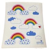 Rainbows Swedish Dishcloth