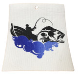 Fishing Swedish Dishcloth