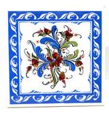 Swedish Folk Art Tile