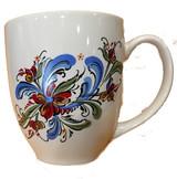 Swedish Folk Art Bistro Mug