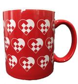 Woven Heart Coffee Mug