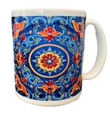 Norwegian Folk Art Coffee Mug