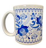 Flower Folk Art Coffee Mug