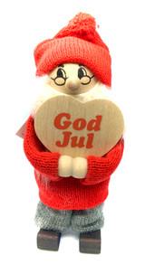 God Jul Heart Tomte