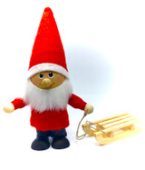 Tomte With Sled