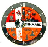 Danish Plate Clock
