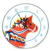 Dalahorse Plate Clock